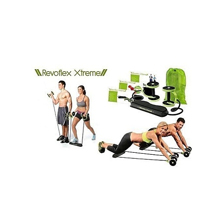 Revoflex Xtreme Home Total Body Fitness Gym Revoflex Xtreme Abs Trainer Resistance Exercise Abdominal Trainer Body Resistance Workout Training Tonning Machine Gym Exercise ABS