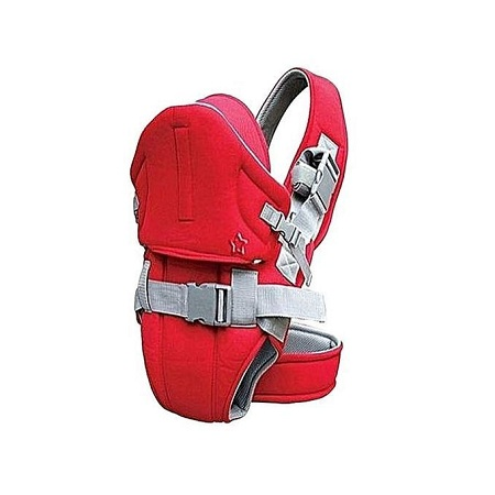 Baby Carrier With Adjustable Straps - Red