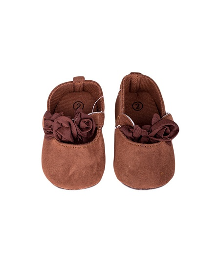 Baby Girl Shoes Brown