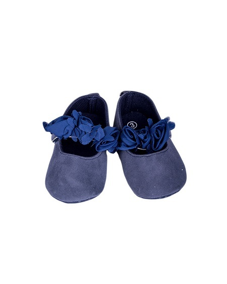 Baby Girl Shoes Navy Blue