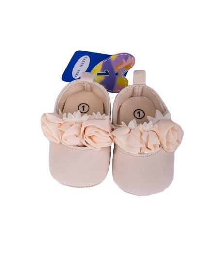 Baby Girl Shoes Peach