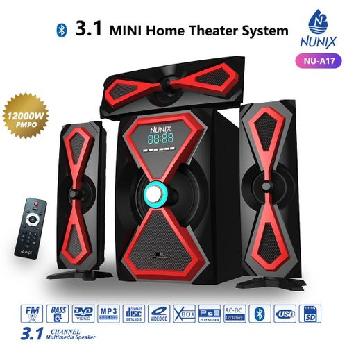 Nunix 3.1Ch MINI Home Theater System