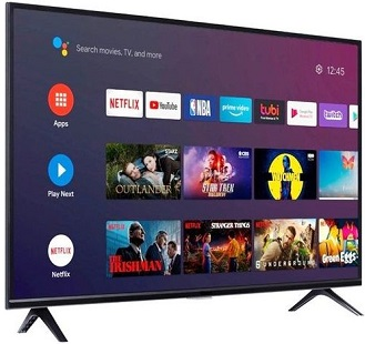 Vitron 43 Inch FHD SMART ANDROID TV, FACEBOOK, NETFLIX, YOU-TUBE TV 43