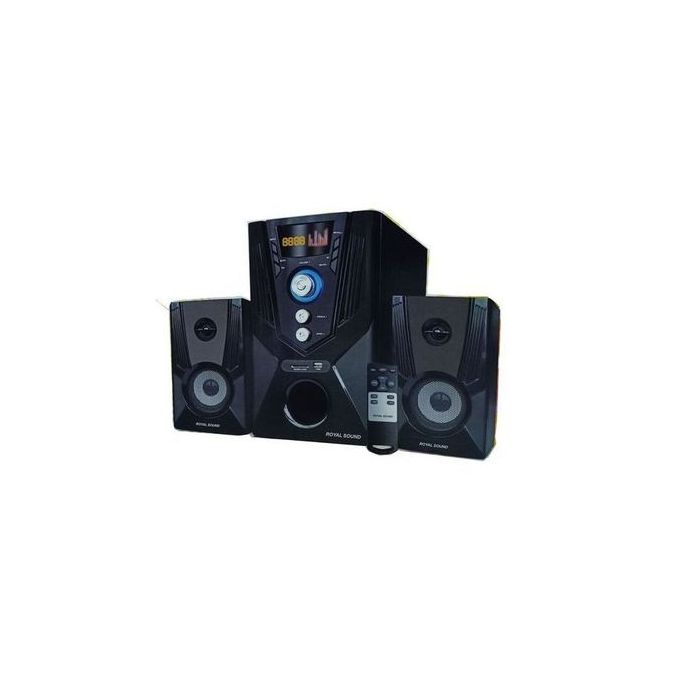 Royal Sound 522 2.1CH 9800W SUB WOOFER BT/USB/SD/FM