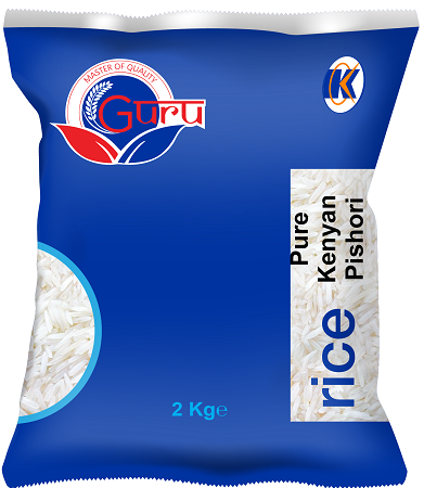 Guru Pure Pishori Rice 2Kg-12 Pieces