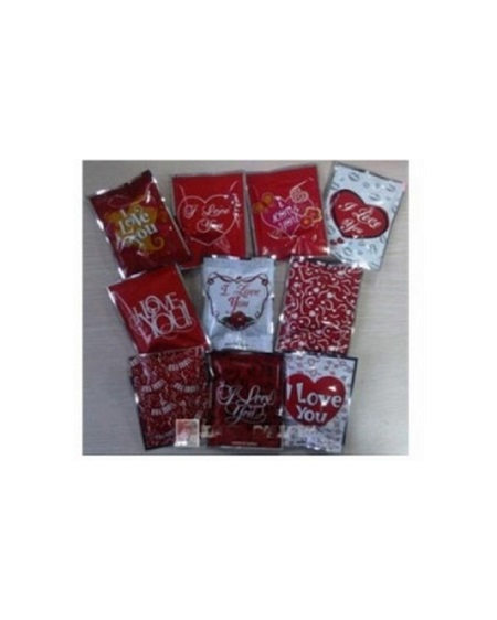 Valentine Bomb Bag With Gift Inside 7X10Cm