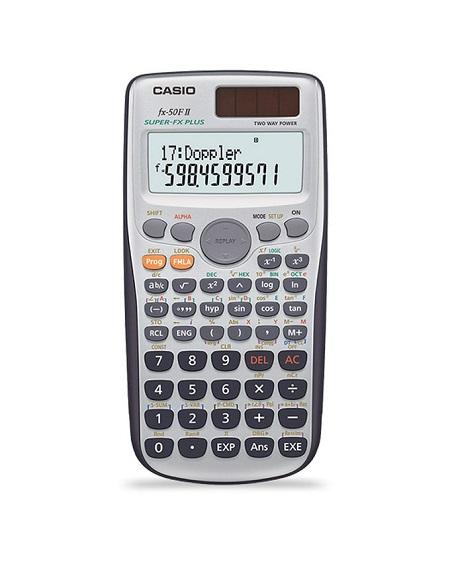 Scientific Calculator 10 + 2 Casio Fx50 2 Way