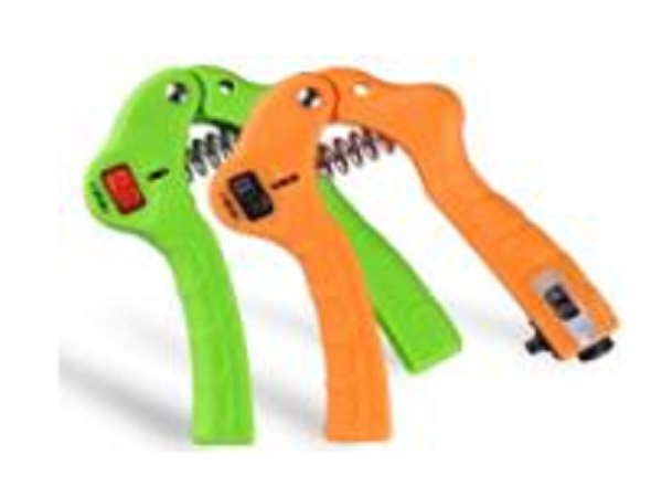 Adjustable, Countable Hand Grip 5-30KGS, with counter, Green