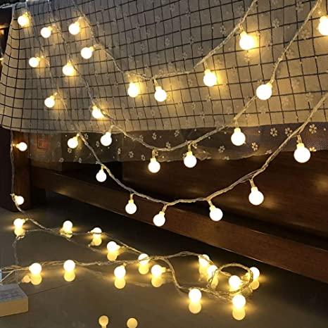 3M LED String Light With 10 Bulbs, Each Bulb With 5 Leds