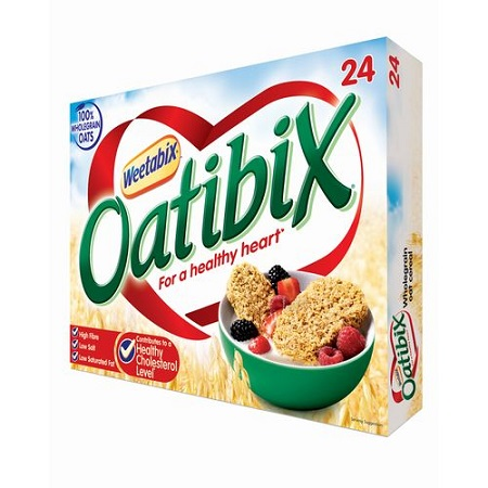 Weetabix Oatibix Whole Grain Biscuits – 500g