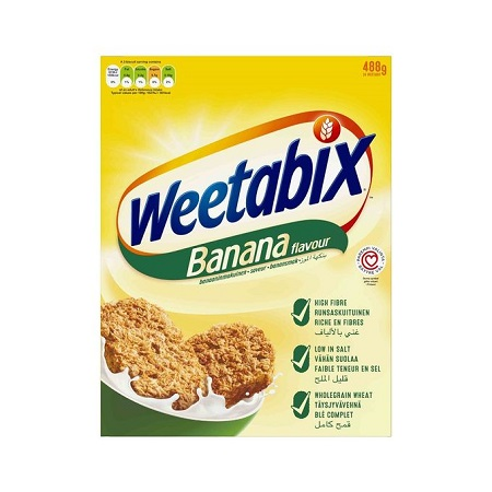 Weetabix Banana Whole Grain Biscuit - 500g