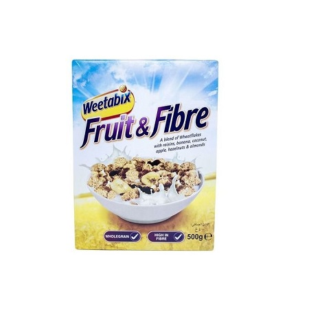 Weetabix Fruit & Fibre Cereals - 500g