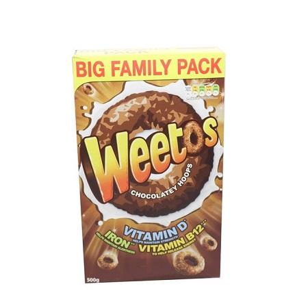 Weetabix Weetos Choco Cereals - 500g