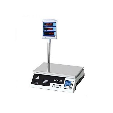 KITCHEN CHEF Electronic Kitchen Scale - White