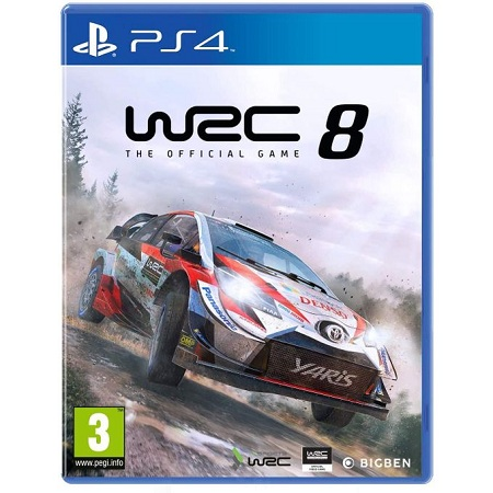 Bigben Interactive WRC 8 FIA World Rally Championship PS4