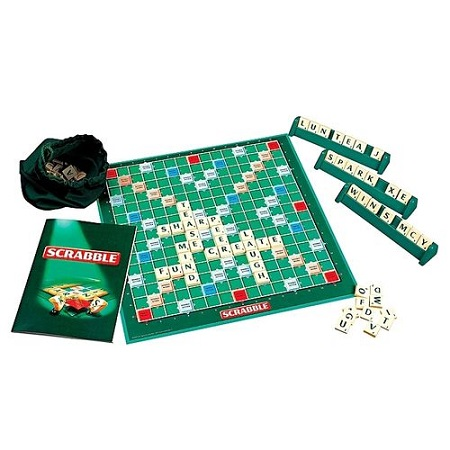 Scrabble With 4 Maximum Player Crossword Game