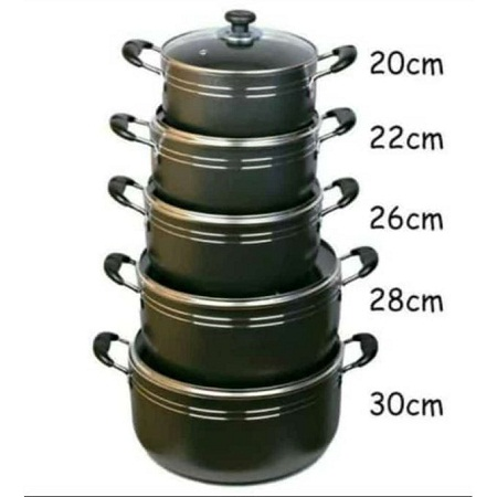 New Seemann Non Stick Cooking Pots