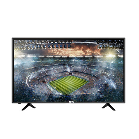 EEFA 43 Inch Smart Android HD LED TV Digital TV- Black