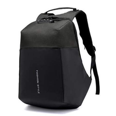 Anti-Theft USB Charging Port Business Backpack