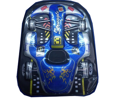 Back to School Kid's Bag/Backpack - Vehicle theme. blue one size