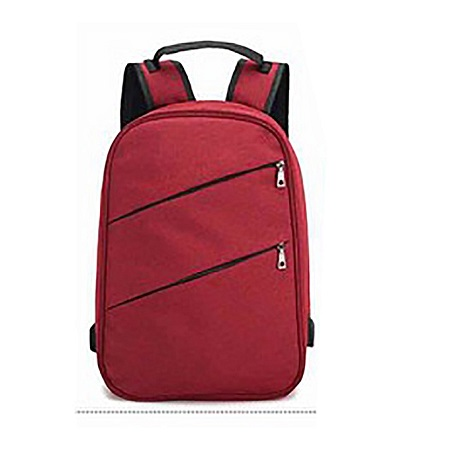 Antitheft Bag With Charging Port - Red