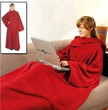 Unisex super soft fleece snuggie blanket with sleeves for the cold season- snuggies
