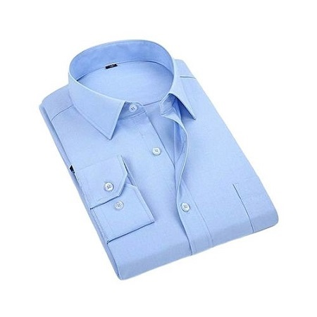Share this product Fashion Sky Blue Formal Official Long Sleeved Shirt