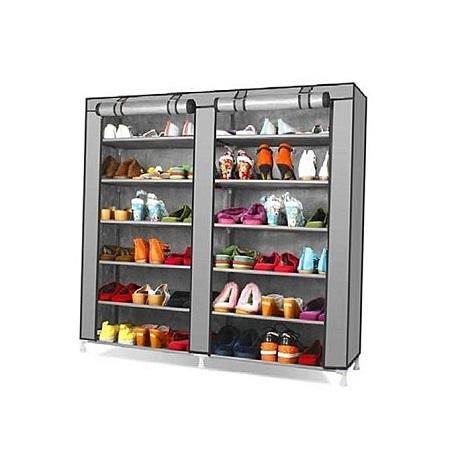 Portable shoe rack - Grey