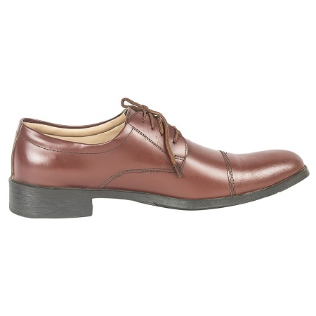Oxford Official Brown Leather Shoes