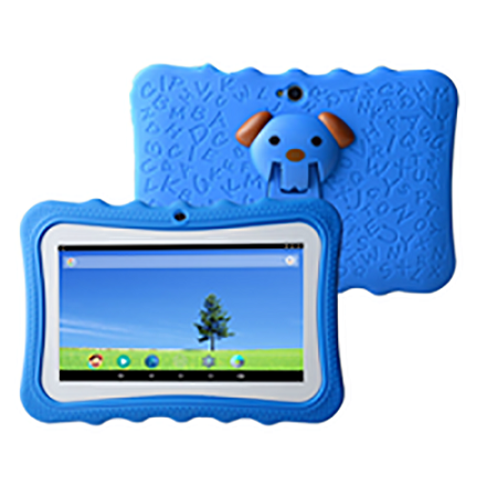 Android Kids Tablet - 7inch - 2.0MP Rear - 1.3MP Front - 1GB RAM - 8GB - Android - Wi-Fi