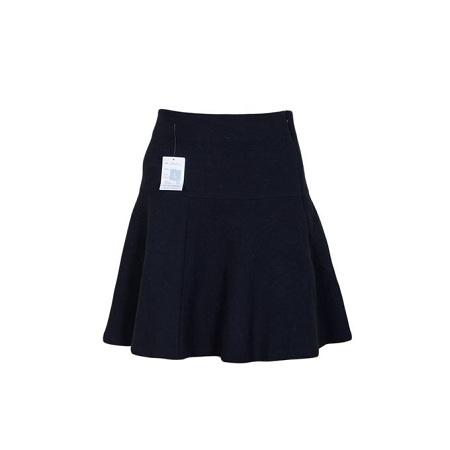 Black Short Flare Skirt