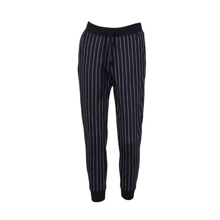 Black Striped Sweatpants Unisex