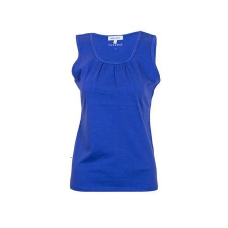 Blue Sleeveless Tank Top