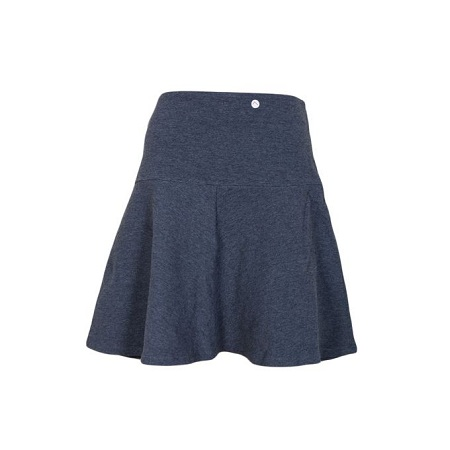Charcoal Grey Short Flare Skirt