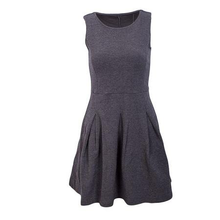 Grey Classy Dress