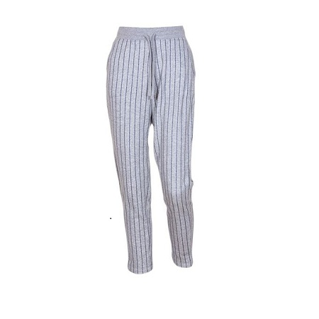 Grey Striped Sweatpants Unisex