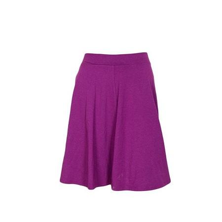 Magenta Pink Flare Skirt