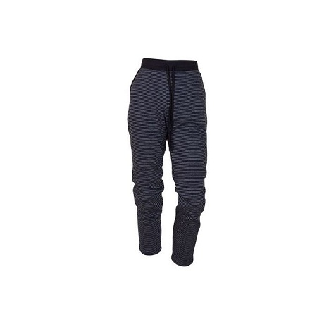 Stretch Fleece Sweat Pants With Stripes