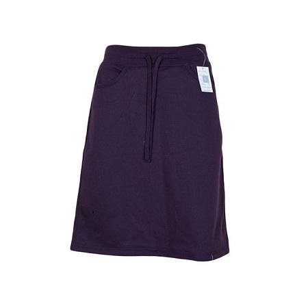 Wine Red Sweat Skirt
