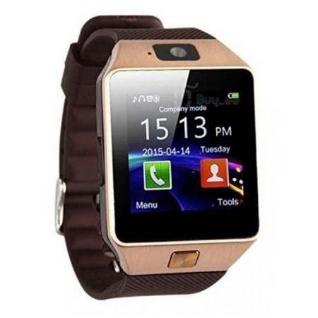 DZ09 Smart Watch For Android And Apple With Camera - Gold