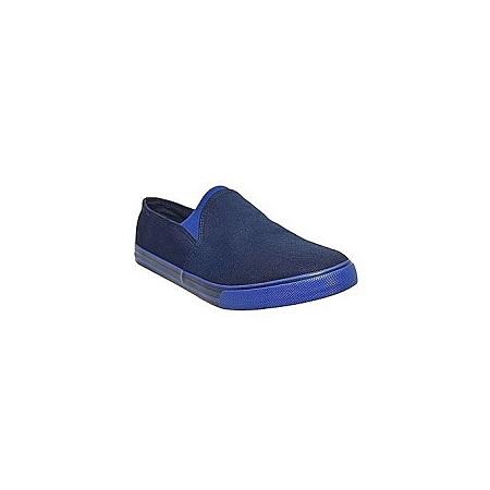 Generic Men's Navy Blue Canvas Shoes
