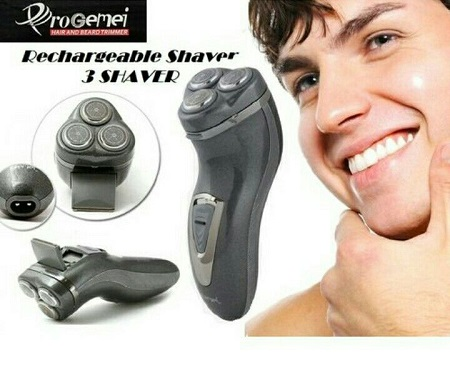 Beard shaver and smoother- black