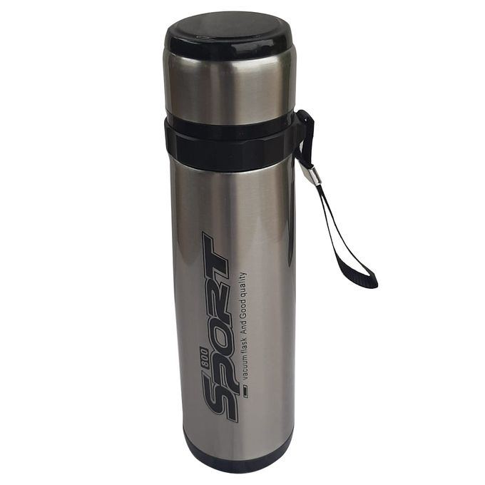 SPORT Liquid Vacuum Flask -600ml Brown