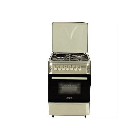 SOLSTAR SO 640F-GWHB SS: 60cm Free Standing Cooker - 4 Gas Burners - White