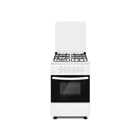 SOLSTAR SO 640F-GINB SS: 60cm Free Standing Cooker - 4 Gas Burners - Inox