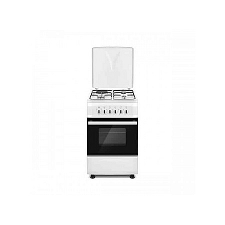 SOLSTAR SO531F-EINB SS: 50cm Free Standing Cooker - 3 Gas + 1 Hotplate - Inox