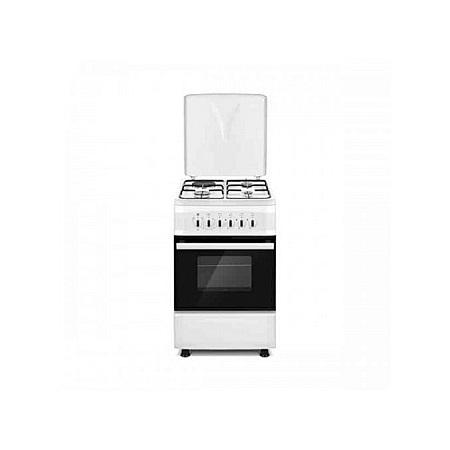 SOLSTAR SO531F-EINB SS: 50cm Free Standing Cooker - 3 Gas + 1 Hotplate - Inox