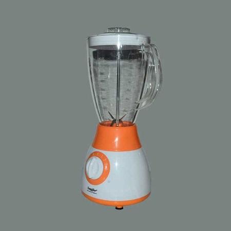 Sonifer 2 in1 Blender with Mill & Grinder Orange + white