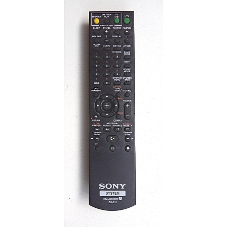 Sony Home theater remote - Black