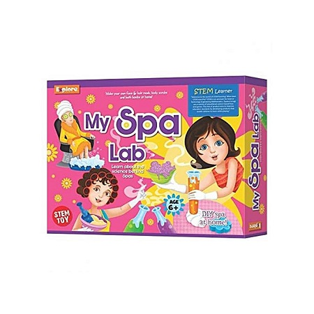 Explore My Spa Lab Science Learning Game